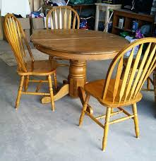 best finish for wood kitchen table chic wooden kitchen table and chairs best painted oak table