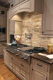 stone veneer kitchen backsplash.  Stone Impressive Decoration Stone Veneer Backsplash Kitchen  Natural Stacked With