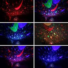 Night Stars Bedroom Lamp Wedna Novelty 360 Rotating Galaxy Night Light Romantic Cosmos