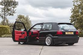 15 1997 golf volkswagen rayvern bagged bbs rs polished