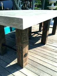outdoor concrete furniture concrete and wood coffee table outdoor concrete furniture for large size of