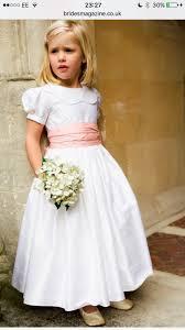 Designer Flower Girl Dresses Uk Silk Puff Sleeve Flower Girl Dress Girls Bridesmaid