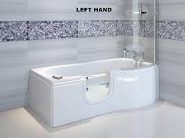 easy access bathtubs showers. bathe easy access concert p shaped walk in shower bath 1675mm bathtubs showers g