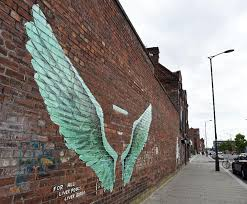 is this the best new street art in liverpool  on angel wings wall art liverpool with is this the best new street art in liverpool liverpool echo