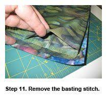 How to Make a Quilt Hanging Sleeve Before or After a Quilt Is ... & How to Make a Quilt Sleeve, Step By Step Adamdwight.com