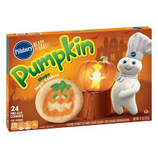 pillsbury halloween sugar cookies. Pillsbury Ready To Bake Pumpkin Shape Sugar Cookies And Halloween