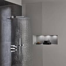 Grohe Euphoria Cube 1 Spray 6 In Showerhead In Starlight