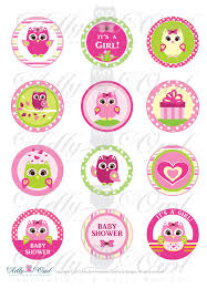 Owl Cupcake Toppers  Owl Cupcake Toppers For A Baby Showeru2026  FlickrBaby Shower Owl Cake Toppers