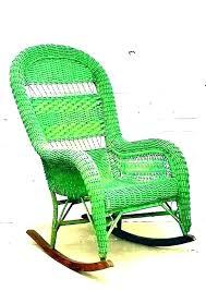 resin wicker aluminum rocker tropical outdoor rocking chairs