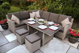 relaxing furniture. Does Both Jobs.dining \u0026 Relaxing Kettler Palma Corner Set White Wash - Garden Furniture World