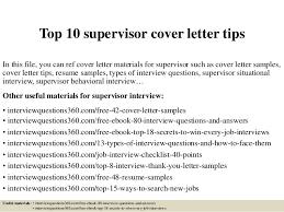Cover Letter For Promotion To Supervisor Laperlita Cozumel