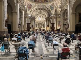 Fase 2, si riempiono le chiese: questo pomeriggio tutto esaurito in San  Pietro e Paolo