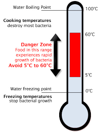 Temperature Danger Zone Chart Information And Advice Food Safety
