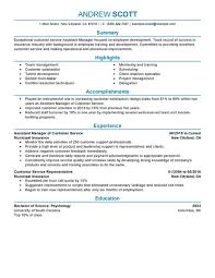 Resume Tips for Assistant Manager
