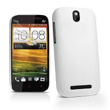 HTC Desire SV - Rubber Kılıf Beyaz Renk ...