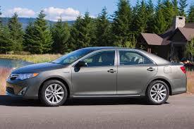 2013 Toyota Camry Hybrid XLE 4dr Sedan (2.5L 4cyl gas/electric ...