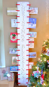 Free Standing Christmas Card Holder Display
