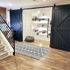 navy planks wood home interior designs barn door