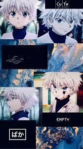 Blue Anime Aesthetic Killua - Anime ...