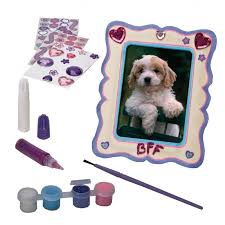 melissa and doug decorate your own wooden picture frame