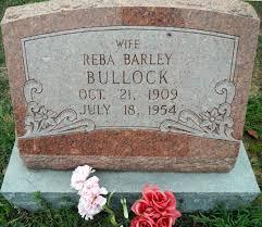 Reba Laura Barley Bullock (1909-1954) - Find A Grave Memorial