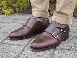 brown leather double monks fall autumn | Monk strap shoes, Dress shoes men,  Monk strap