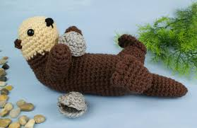 Cute Crochet Patterns Simple Sea Otter Amigurumi Crochet Pattern PlanetJune Shop Cute And