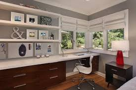 We get that for most people working from home, the reality is not a large room dedicated solely to getting stuff done it's a tiny turn an area of your living room, guest bedroom or hallway into a small office using simple home office storage and an attractive office desk. Home Office With Guest Bedroom Ideas Design Corral