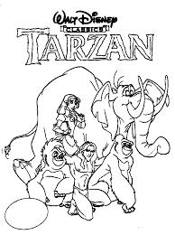 Small Picture Disney Tarzan Tarzan Coloring Pages Pinterest Tarzan