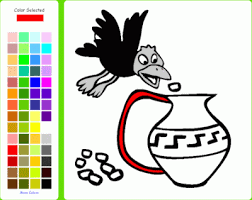 Small Picture Online Coloring Book for Kids