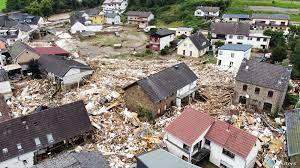 """ألمانيا تواجه """"أسوأ كارثة منذ الحرب العالمية الثانية"""" بسبب الفيضانات"""