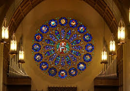 one of the world s largest stained glass rose windows is in west texas