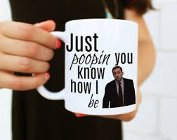 the office coffee mugs. just poopin you know how i be coffee mug the office inspired mugs g