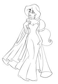 Small Picture Cinderella in Wedding Dress Coloring Page Cinderella pages of