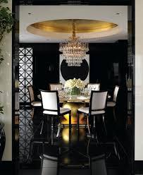 black wall chandelier