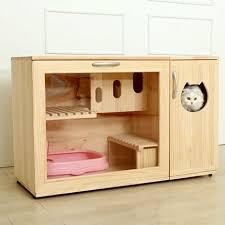 fancy pet furniture. fancy cat litter box all the climbing would knock littler off paws pet furniture s