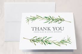 Word Thank You Wedding Guide How To Word Wedding Thank You Cards