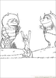 Small Picture Where The Wild Things Are Coloring Pages WhereTheWildThingsAre