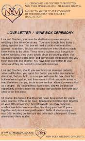 Explanation of duties of a justice of the peace in montgomery county texas. Wine Box Love Letter Ceremony Sample Wedding Ceremonies New York Wedding Officiant Long Wedding Ceremony Script Wine Box Ceremony Wedding Ceremony Readings
