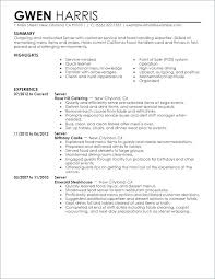 The Proper Waitress Resume Examples Sample Objective Mmventures Co
