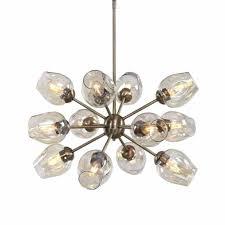 west elm sputnik chandelier ceiling light brass from our ceiling lighting range at john lewis partners free delivery on orders over 50