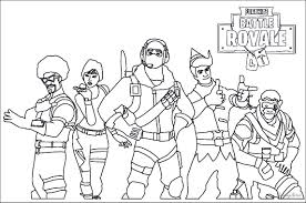 Fortnite coloring pages is a collection of black and white illustrations based on the popular all over the world computer game. Get Fortnite Coloring Pages To Print Images Tunnel To Viaduct Run