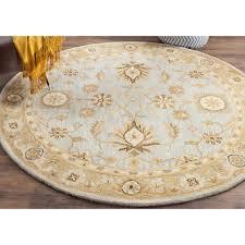 light 6 round rug
