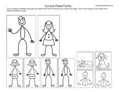 Small Picture My Family Coloring Page Tracing and coloring page Twisty