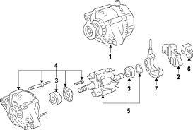 parts com® toyota avalon alternator oem parts 2000 toyota avalon xl v6 3 0 liter gas alternator