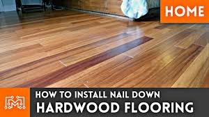 Can You Install Wood Floor In Kitchen