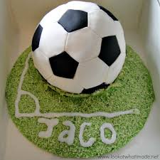 How To Decorate A Soccer Ball Cake Soccer Ball Cake How To Look At What I Made 14