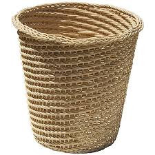 small wicker wastebasket with lid. Exellent Wastebasket Neu Home Wicker Wastebasket Light Throughout Small Wastebasket With Lid I