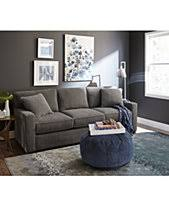 New living room furniture Cape Cod Modern Radley Fabric Sofa Collection Created For Macys Macys Living Room Furniture Macys