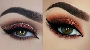 perfect eye makeup tutorial for beginners glitter eyeshadow for party part 5